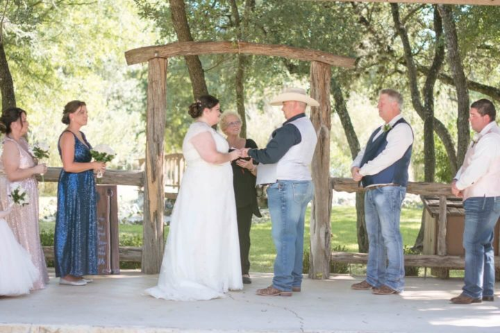 I Pronounce You Georgetown Austin Wedding