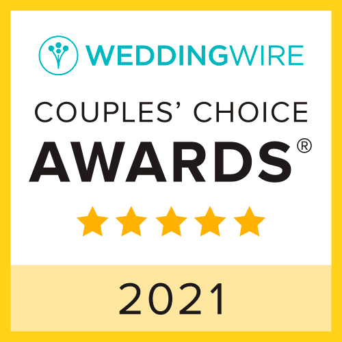 weddingwire 2021 couples choice award